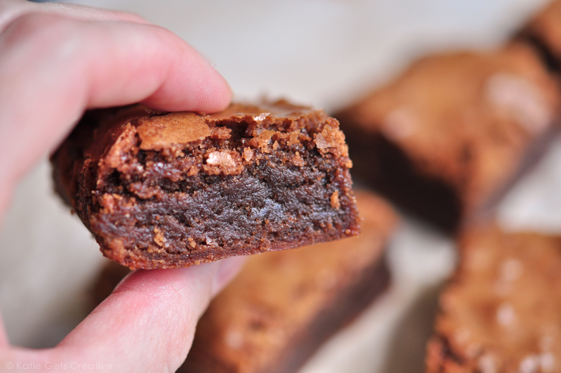 The Chewiest Better than Box Mix Brownies